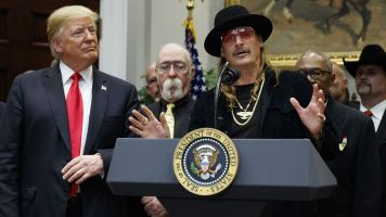 Of course Kid Rock and Trump golf together