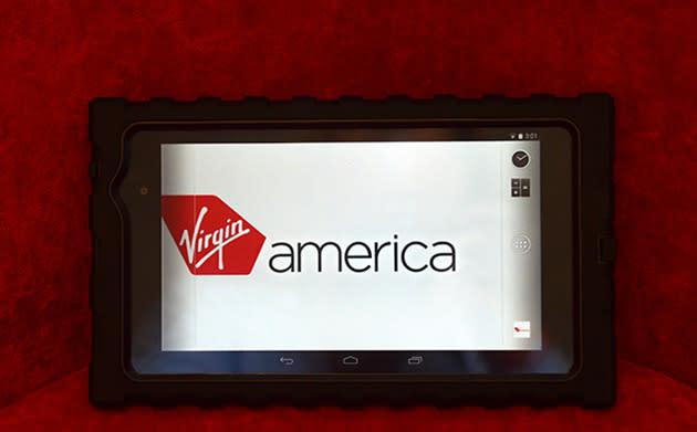 Virgin America passes out Nexus 7s to crew members