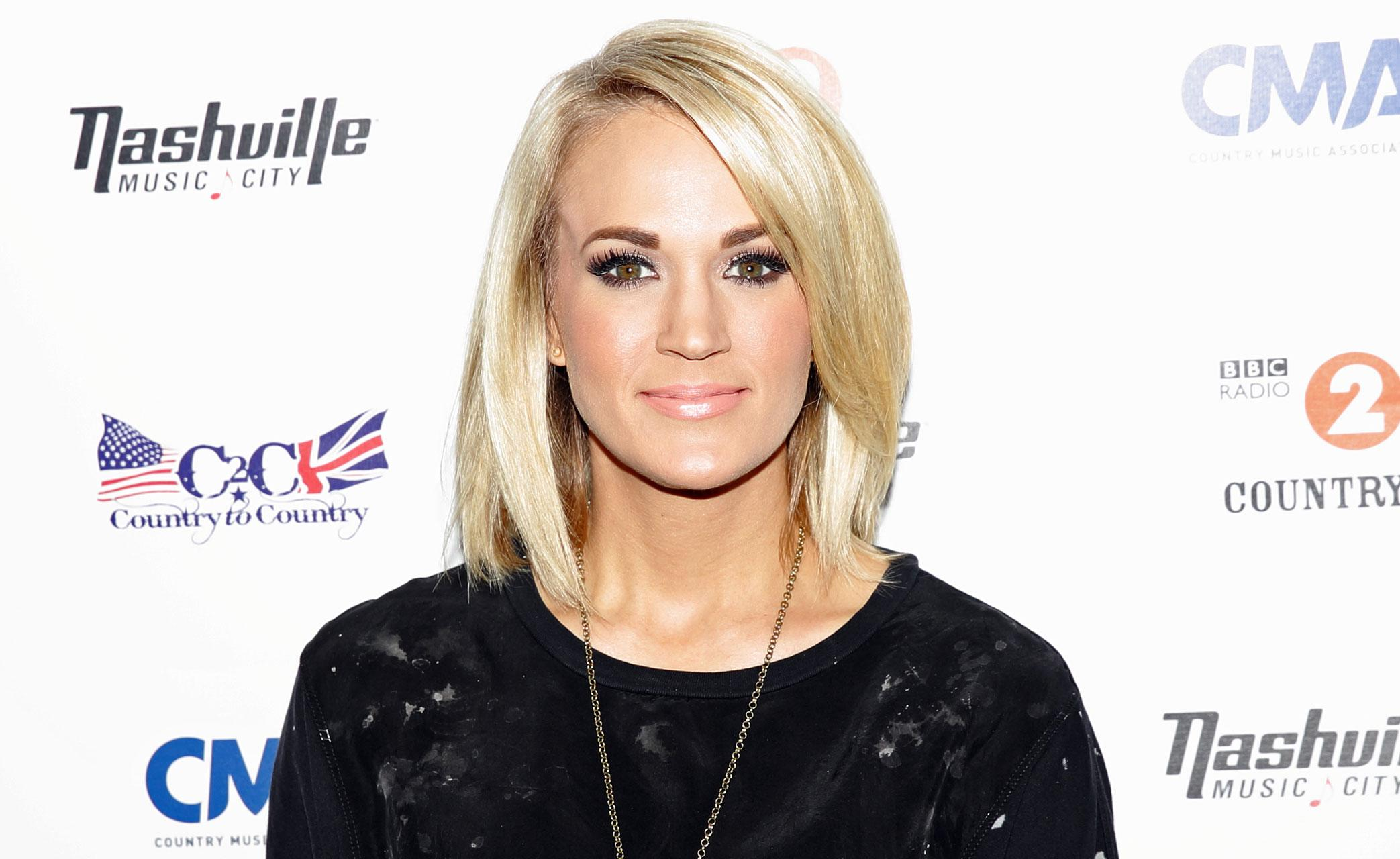 carrie underwood embraces her bob: 'cutting my hair was a