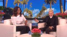 Ellen's 60th birthday brings Michelle Obama, Jimmy Kimmel, Sofia Vergara, and Jamie Foxx