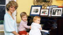 Un vídeo del príncipe William maquillando a su madre sale a la luz 35 años después