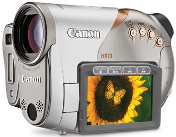 Canon unveils HR10: its first AVCHD camcorder