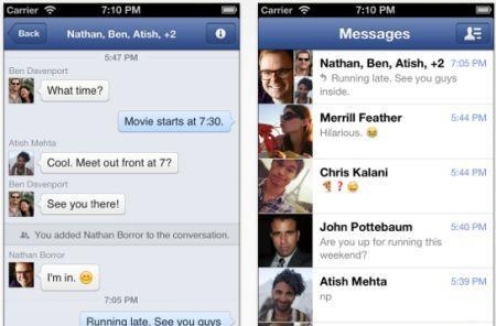 Facebook Messenger gets voice features, more coming