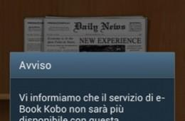 Samsung warns Italians that Kobo is leaving the Readers Hub, teases 'new and improved' e-book service