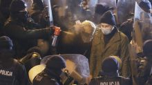 Police call tear-gassed Polish lawmaker a protest threat