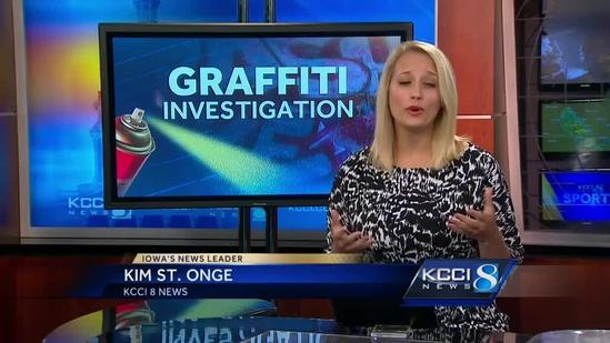Reward offered to stop neighborhood graffiti