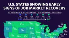 These 5 states show slowest coronavirus job market recovery