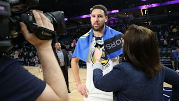 Klay Thompson not worried about 'fickle' fans