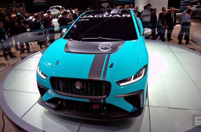 Jaguar plans a production EV racing series for 2018