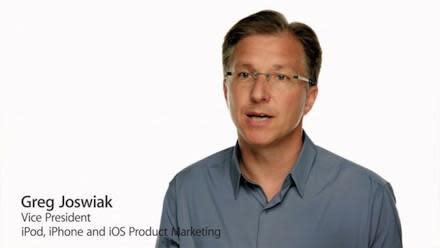 Apple's Greg Joswiak describes Apple's four principles of success