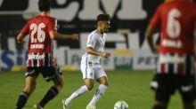 Após nova chance no Santos, Lucas Lourenço cita sonho de jogar Liberta
