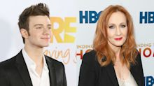 'Glee' actor and fantasy novelist Chris Colfer calls J.K. Rowling's trans comments 'really disappointing'