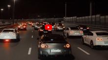 東瀛戰神大會師!俄羅斯大型車聚共 40 輛 Nissan GT-R 齊聚一堂