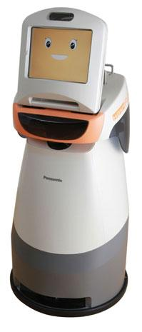 Panasonic shows us its softer side, intros trio of high-tech robotic helpers