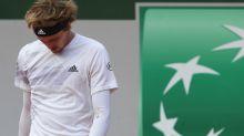 """""""No puedo respirar"""": Zverev jugó en Roland Garros con fiebre y síntomas de Covid-19"""