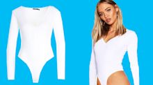 Women lose it over Boohoo's ridiculously high-cut 'front wedgie' bodysuit