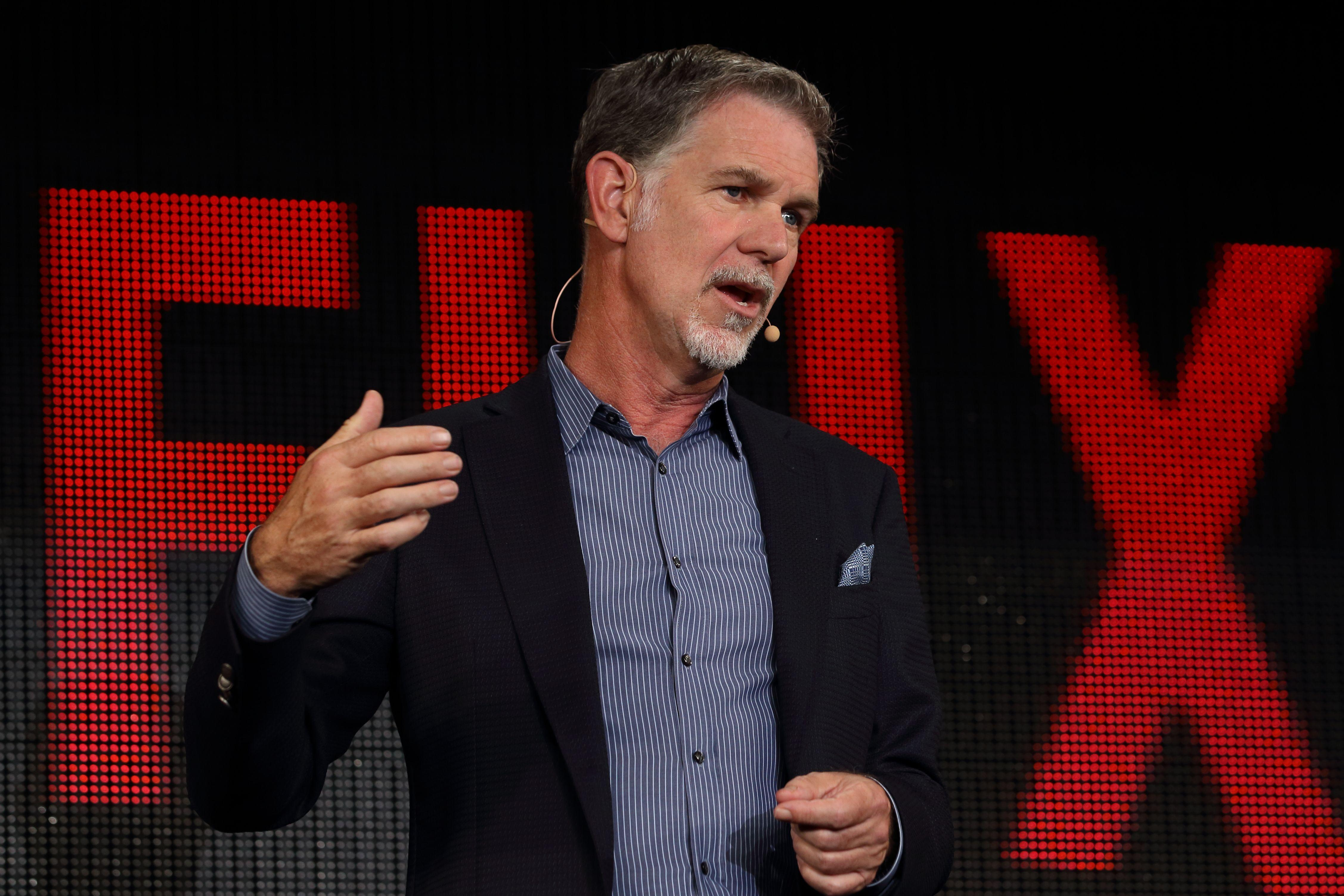 "Netflix CEO Reed Hastings On ""Feeling The Wind"" Through COVID-19 ..."