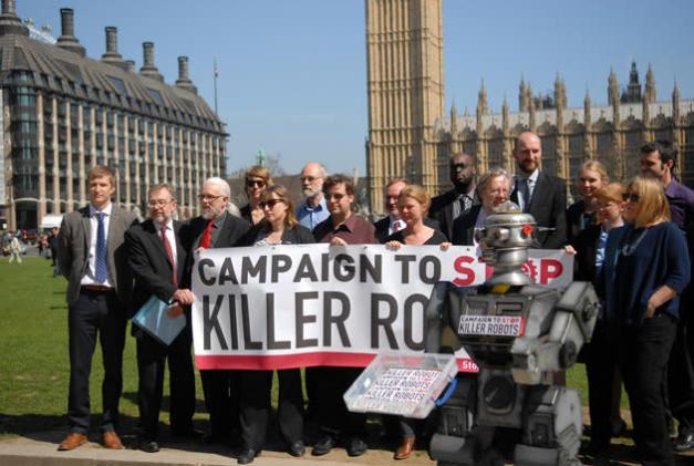 UN debates a preemptive ban on killer robots