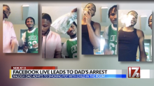 Dad charged with child abuse for smoking marijuana in front of his 6-year-old son on Facebook Live