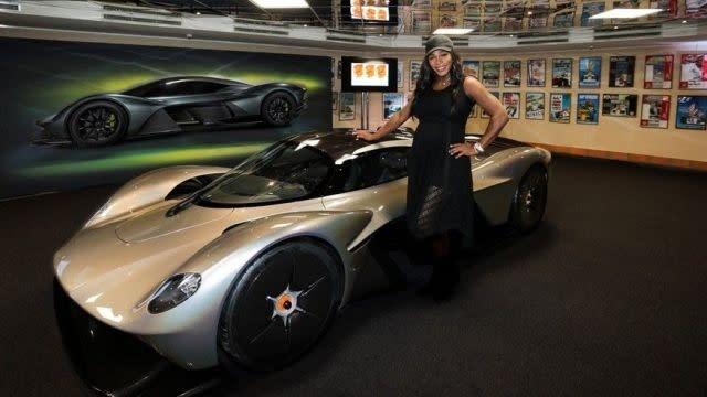 Aston Martin Valkyrie True Power Figure Revealed