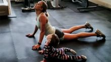 Carrie Underwood Does Yoga With Her 2-Year-Old Son Isaiah: Watch!