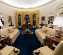 Biden revamps the Oval Office: President adds bust of Cesar Chavez and removes controversial portrait