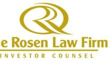 ROSEN, NATIONAL TRIAL LAWYERS, Reminds Fennec Pharmaceuticals Inc. Investors of the Important Deadline in Securities Class Action - FENC