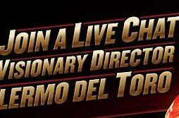 Chat with Guillermo Del Toro in Blu-ray exclusive live chat