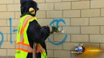 City steps up effort to clean up graffiti