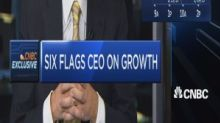 Six Flags CEO: Share price doesn't align with our record performance