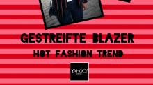 Hot Fashion Trend: Diese Saison setzen wir auf gestreifte Blazer