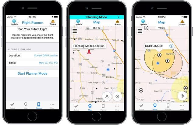 FAA's B4UFLY app tells drone operators if it's okay to fly