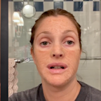 'It gets the job done - insta facial': Drew Barrymore swears by this bizarre $39 Korean beauty mask