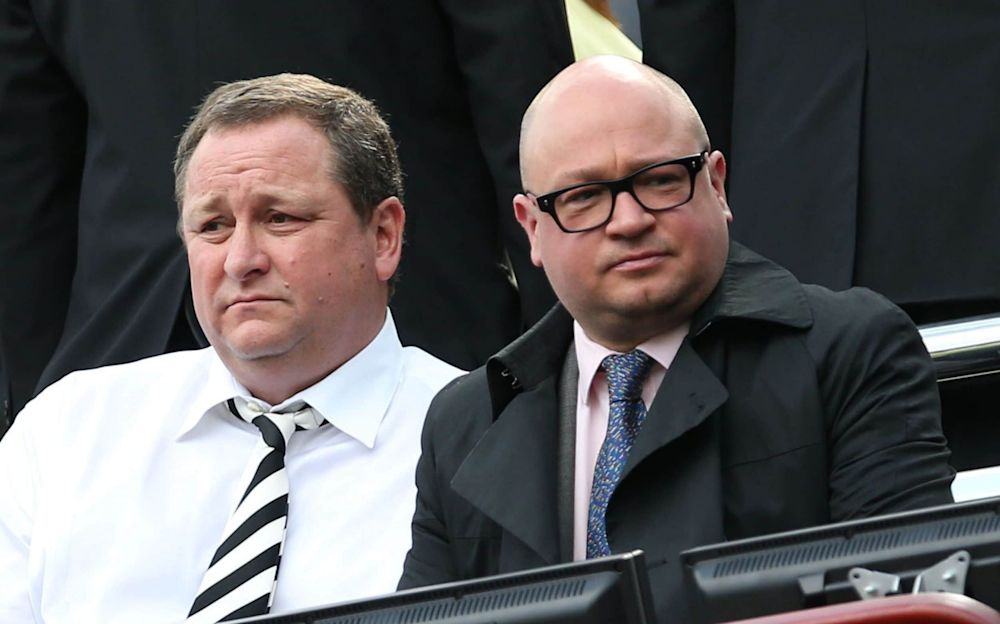 Newcastle managing director Lee Charnley has worked closely with chairman Mike Ashley - AFP