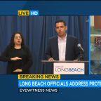Long Beach Mayor Garcia address looting, vandalism after chaos Sunday