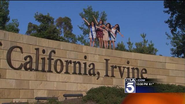 UC Irvine Students Overjoyed to Hear President Obama Speak at Their Graduation