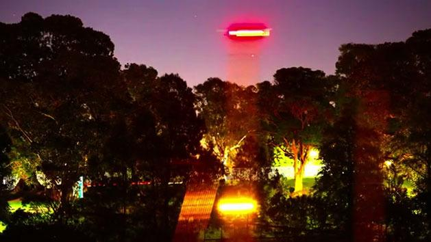 Rusty catches 'UFO' on video