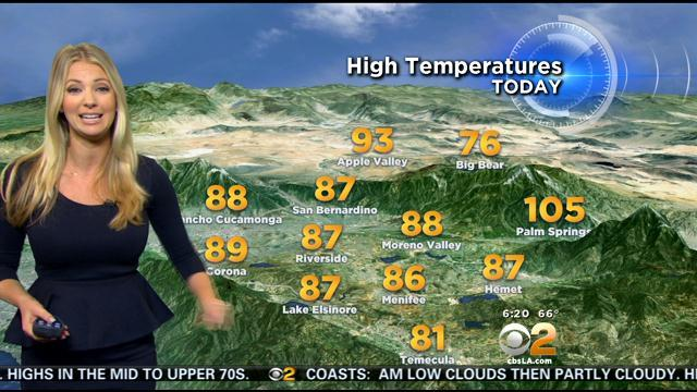 Evelyn Taft's Weather Forecast (July 16)