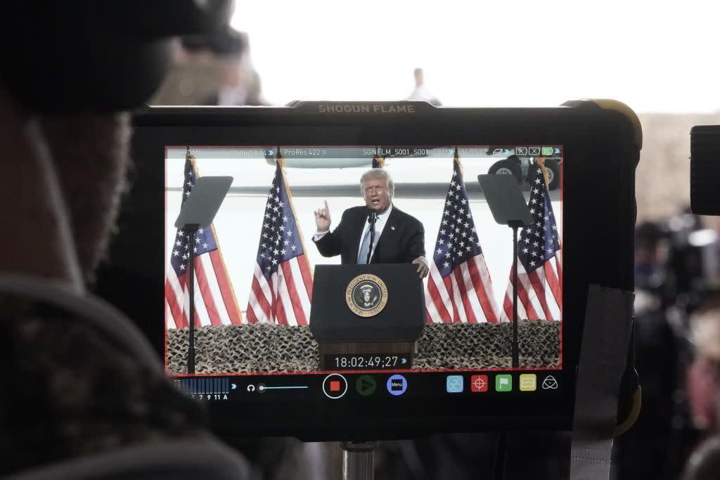Trump's Trumpy Transition Saps Biden and Himself