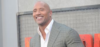 The Rock's gate wouldn't open, so he ripped it off