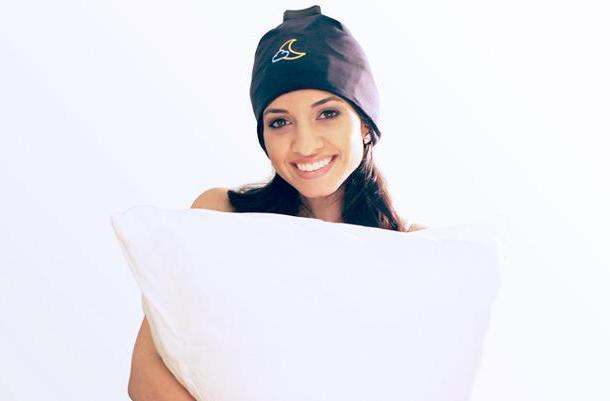 Trouble sleeping? A snooze-inducing cap might help