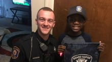 Police surprise bullied 9-year-old after none of his classmates show up to his birthday party