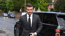 David Beckham gets six-month driving ban for using phone behind the wheel