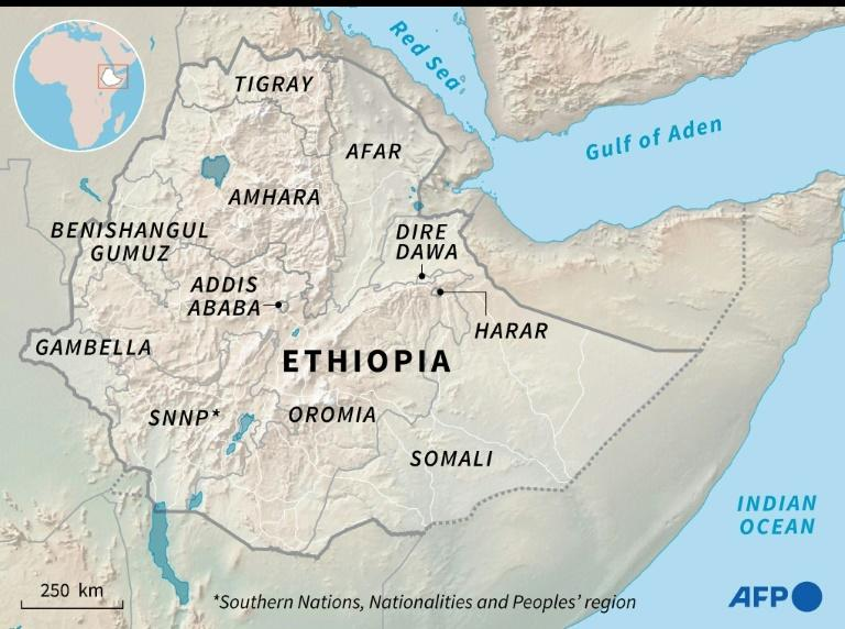 Ethiopia and its regions