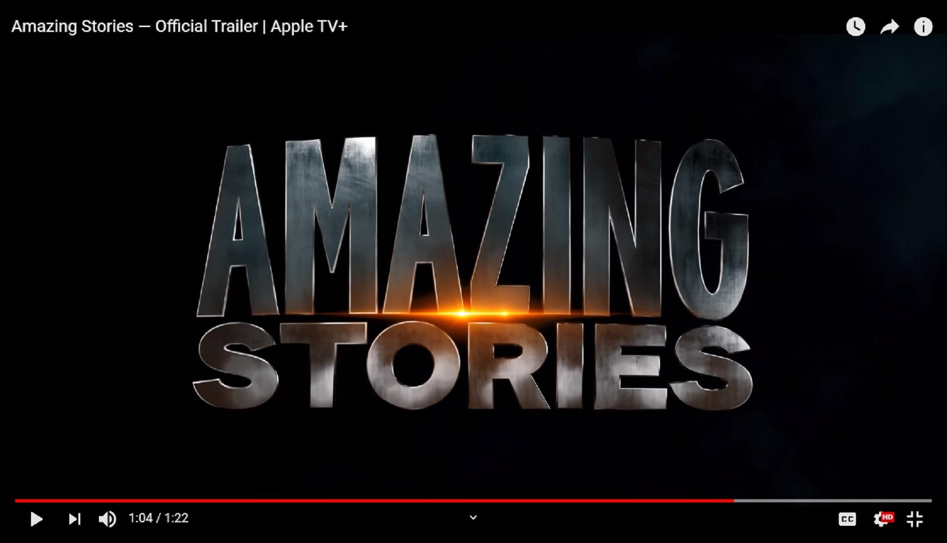 Amazing Stories Trailer: Apple TV+ Resets Steven Spielberg's Sci-Fi Anthology Series
