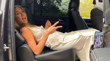 Jennifer Aniston Reveals How She Avoided Wrinkling Her SAG Awards Dress: 'Harder Than It Looks!'