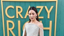 Constance Wu wears dazzling gown by Meghan Markle's favorite designer and it features over 200K crystals and 90 carats of diamonds