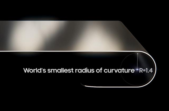 Samsung says its Galaxy Z Fold 2 display has the 'world's smallest curvature'