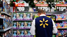 Walmart reports best sales growth in a decade, shares spike