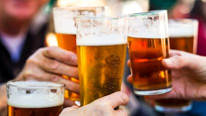 Meeting for a pint 'prevents men discussing their feelings'